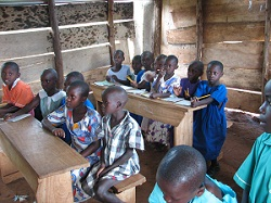 Kids at School in Uganda